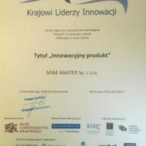 """Award in the """"National Leaders of Innovation - 2009"""""""