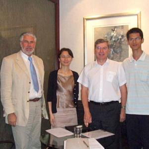 Agreement with Beijing Baihui Economy Development Corp.